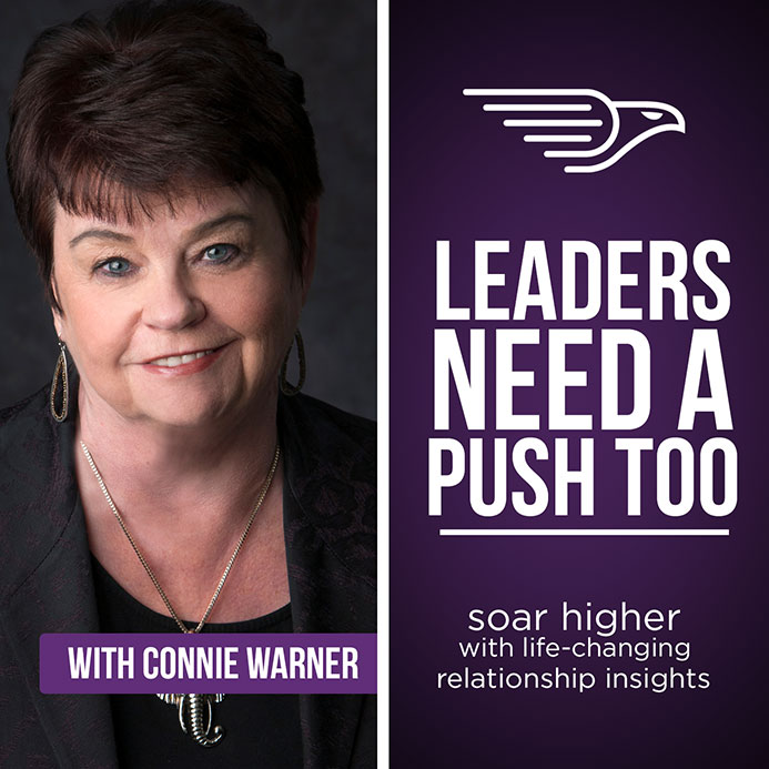 CONTACT CONNIE WARNER FROM LEADERS NEED A PUSH TOO